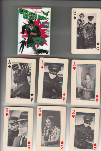 GREEN HORNET 52-playing card deck