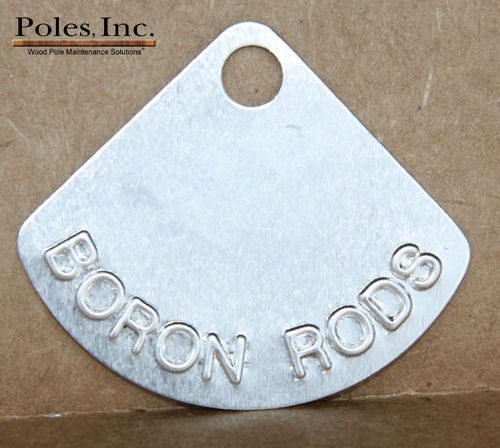 Boron Rod Tags (Bag of 500)