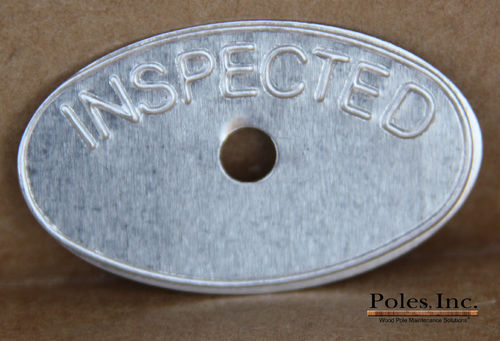 Inspected Oval Tags NO DATE (Bag of 500)
