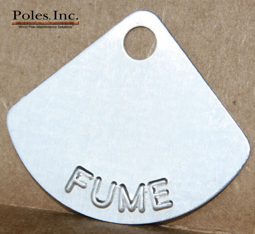 FUME Tags Aluminum (Bag of 500)