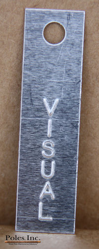 Visual Tags Aluminum (Bag of 500)