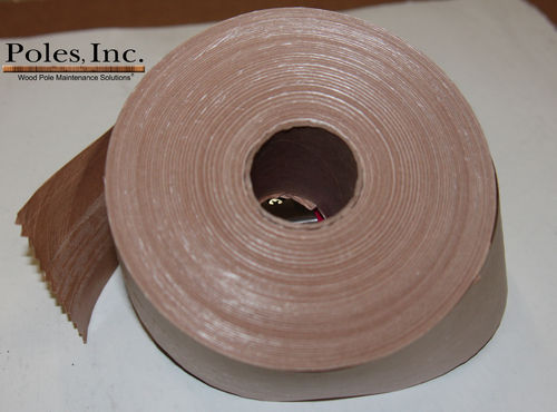 "Padlock Tape (Box of 8 Rolls, 3"" x 375' per roll)"