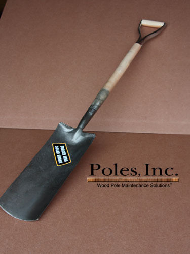 "Digging Shovel, ""Trench"" style 12"" with D Grip"
