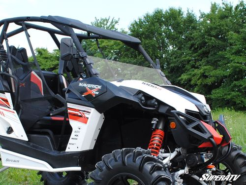 Can-Am Maverick Scratch Resistant Half Windshield