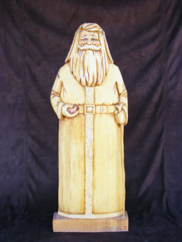 Santa Woodcarving - #156/204
