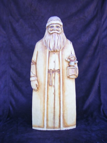 Santa Woodcarving - #156/201