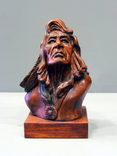 "Ron Cotter - ""Indian Bust 2"" - #269/10"