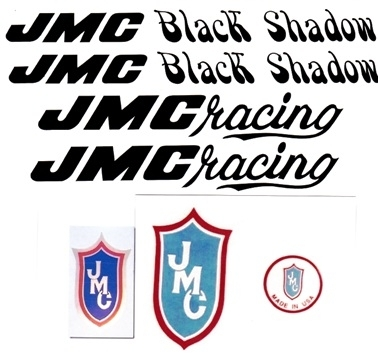Black JMC Black Shadow Decal Set