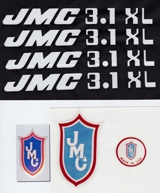 White 3.1 XL decals