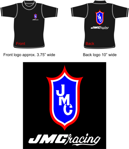 Navy Blue JMC® Racing T-Shirt Small