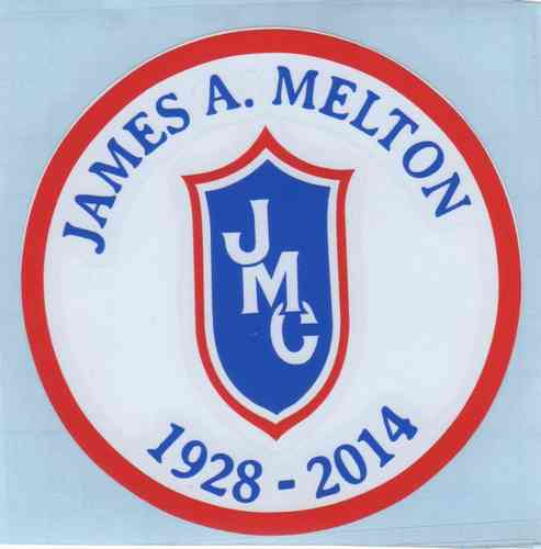 James A. Melton Memorial Decal