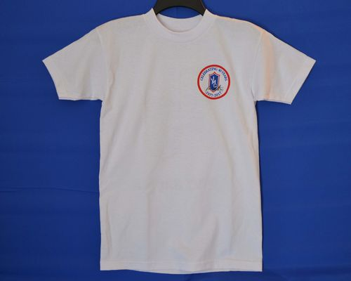 White Small JMC Racing 40th Anniversary T-Shirt