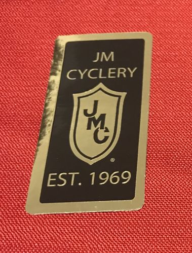 1969 JMC® Gold & Black Commemorative Decal