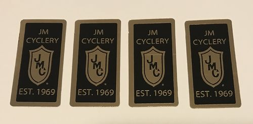 1969 JMC® Gold & Black Commemorative Decal (4pack)