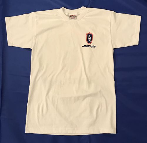 White JMC ® Racing T-Shirt - 4XL