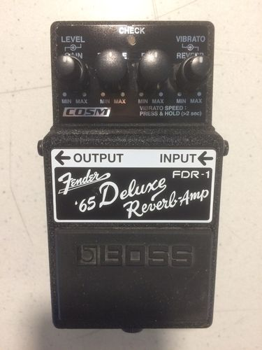 Pre-Owned Boss FDR-1 Deluxe Reverb