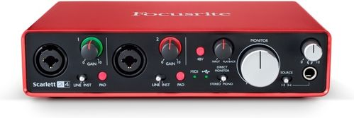 Focusrite Scarlett 2i4 Audio Interface