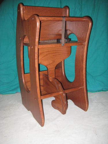 3 in 1 Combination (high chair, rocking horse, and desk)