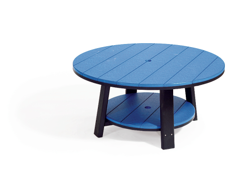 Conversation Table, Recycled Poly