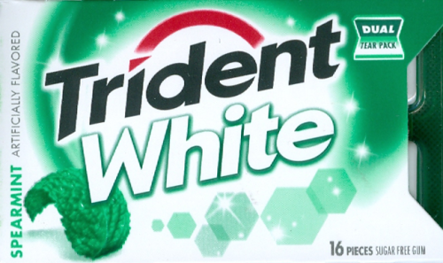 White Spearmint Gum - 16 Stick (c/9pzs)