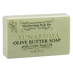Olive Butter Soap with Grape Seed Oil