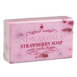 Strawberry Soap with Jojoba Butter