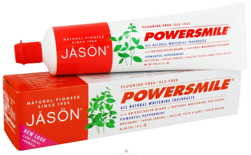 Power Smile Fluoride Free Toothpaste