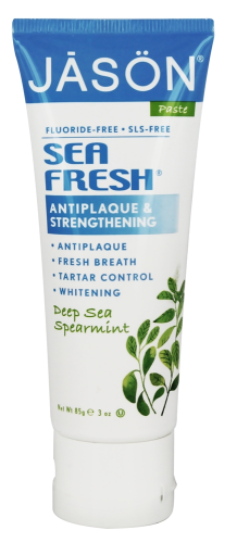 Sea Fresh Antiplaque & Strengthening Fluoride-Free Toothpaste Deep Sea Spearmint
