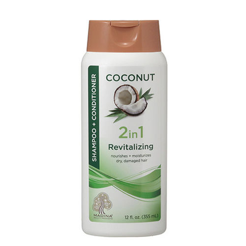 COCONUT SHAMPOO & CONDITIONER 2 IN 1