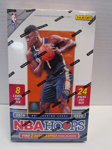 2019/20 Panini Hoops Basketball Hobby Box