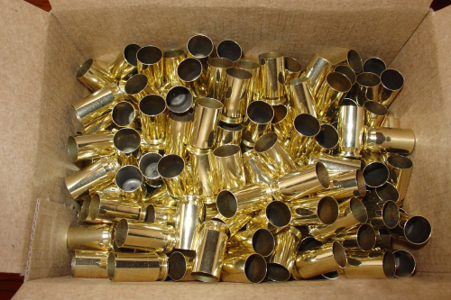 .45acp Brass Casings Small Primer 500ct Unprocessed