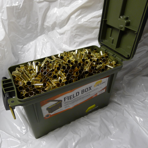 9mm Brass 1700ct Unprocessed with Field Box