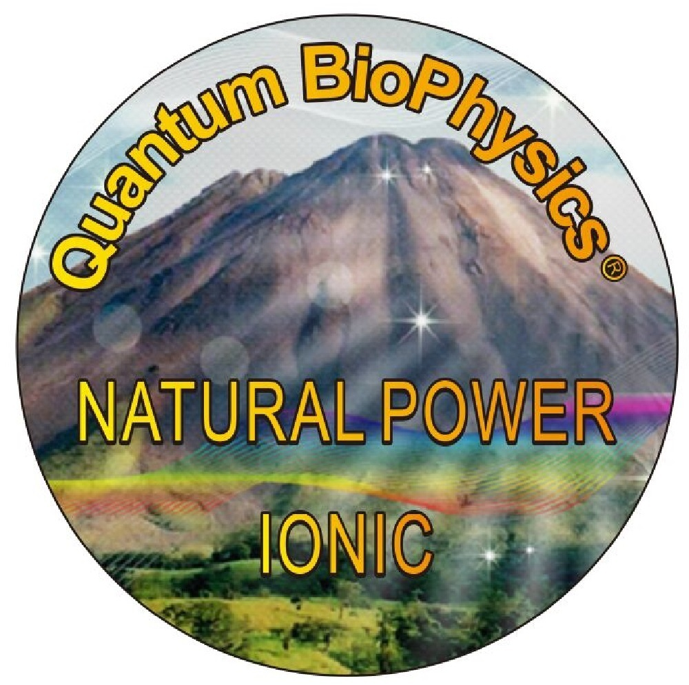 Quantum BioPhysics® AlphaSpin™Natural Power Ionics Disc 7k