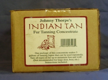 JOHNNY THORPE INDIAN TAN - FUR TANNING CONCENTRATE
