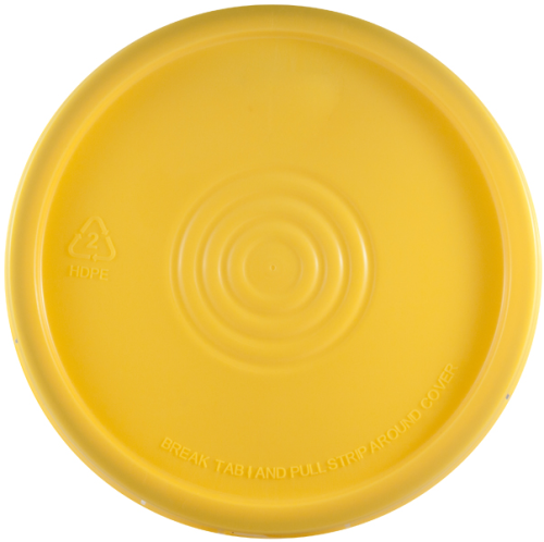 Yellow Lid for 5 gallon pail