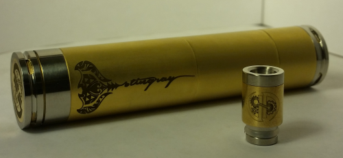 StingRay Mechanical Mod w/ Bonus Kick Ring
