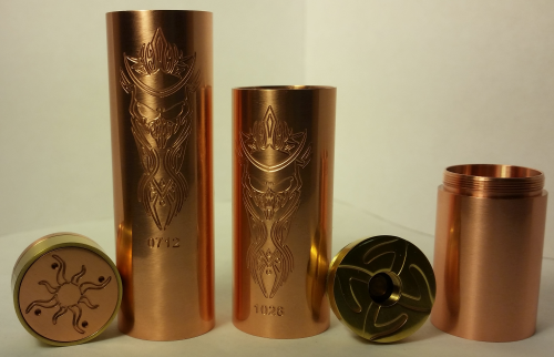 Akuma Mechanical Mod w/ Bonus Kick Ring