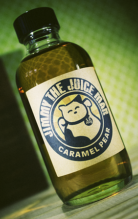 Caramel Pear Jimmy The Juice Man Premium E~Liquids