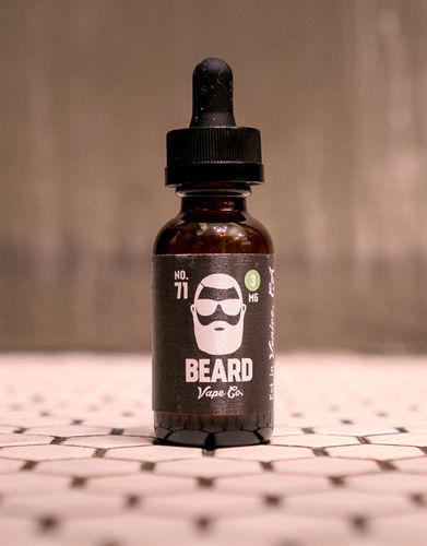 No.71 (Sweet Sugar Peach) Beard Premium E~Liquids