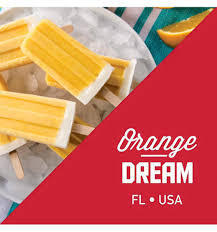 Orange Dream (Orange Sherbert, Vanilla Cream) By Liquid State E Liquids