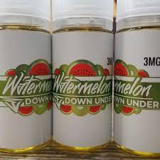 Watermelon Down Under (Watermelon, Kiwi, Cream) VAPEGOONS Premium E~Liquids
