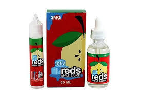 Reds Apple Iced (Apple Juice, Menthol) By 7Daze