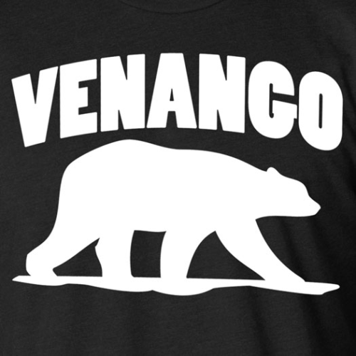 VENANGO WHITE BEAR TEE