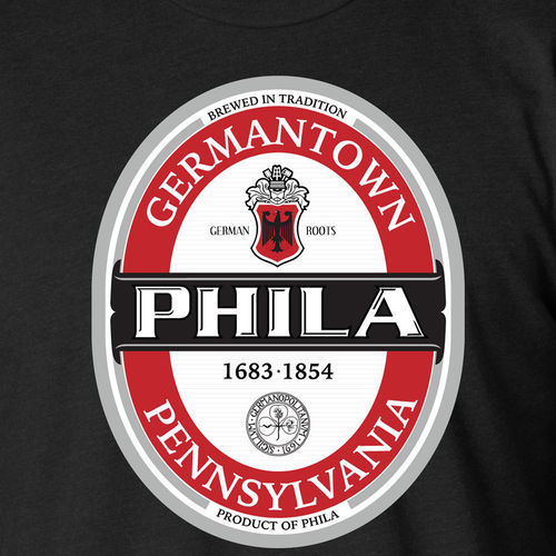 PHILA GERMAN LABEL