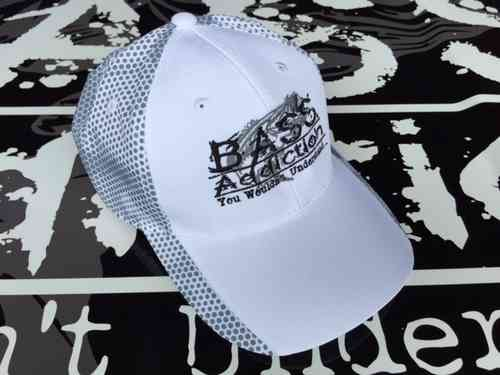 BASS ADDICTION HAT - WHITE