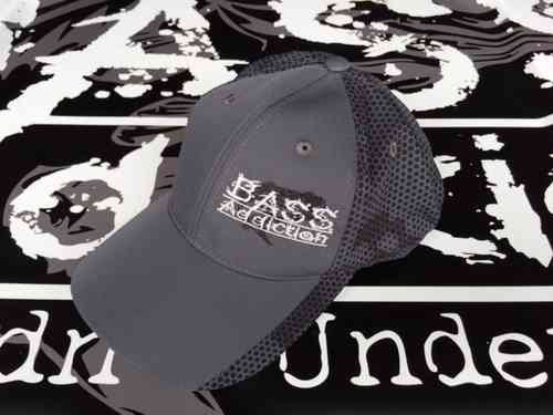 BASS ADDICTION HAT-SIDE LOGO - IRON GRAY