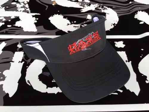 BASS ADDICTION VISOR- BLACK