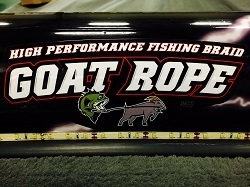 "GOAT ROPE STICKER- 9"" x 3.5"""