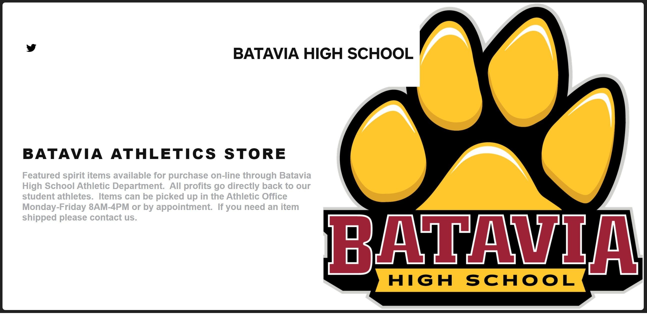 BHS_Athletics_Store