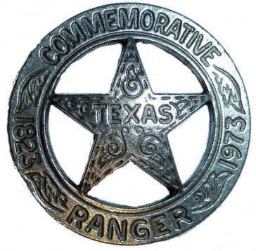 Commemorative Texas Ranger Medallion